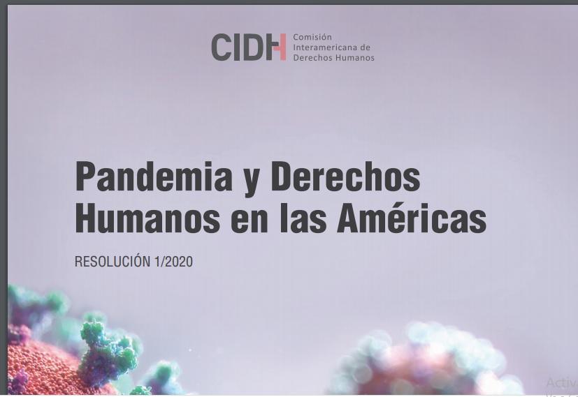 PANDEMIA Y DERECHOS HUMANOS EN LAS AMÉRICAS