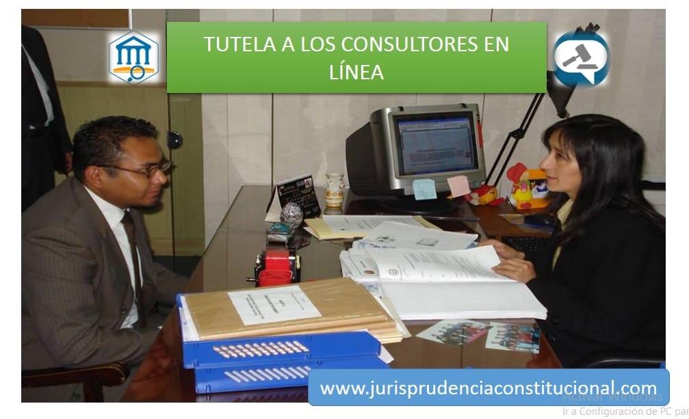 Estabilidad laboral de los consultores en línea mientras este vigente su contrato