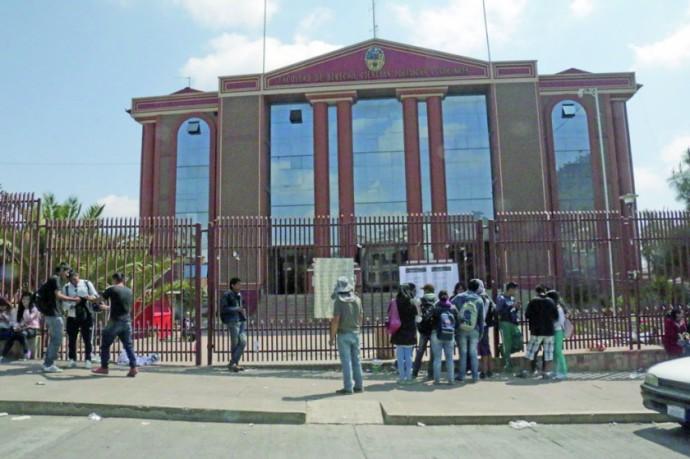 Facultad de Derecho de la Universidad de San Francisco Xavier de Chuquisaca