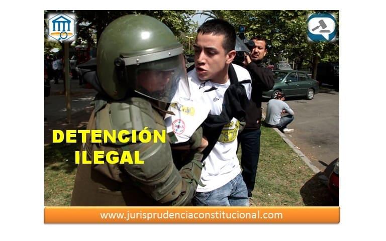 Circunstancias en las que existe detención ilegal